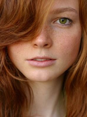 green eyed ginger