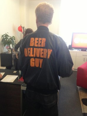 Beer delivery guy