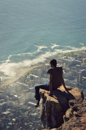 Cliffside seat