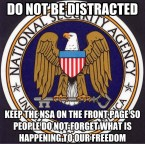Do not be distracted