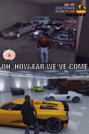 How far has GTA come