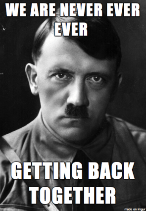 Hitler quotes taylor swift