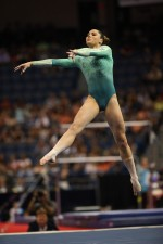 McKayla Maroney jumps