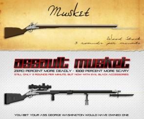 Musket vs Assault Musket