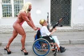 walking your cripple
