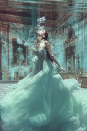 Under water dress