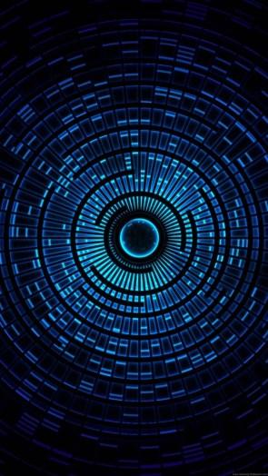 blue lights vertical wallpaper