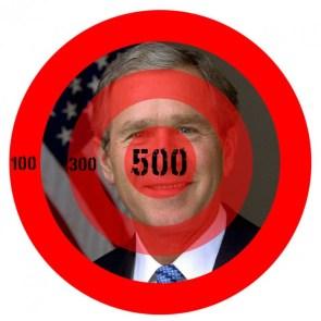 bush targets for darts