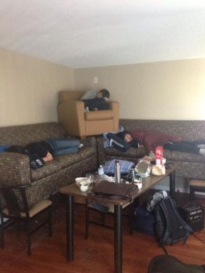 drunk sleeper
