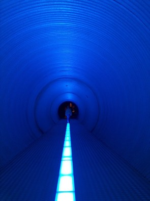 follow the blue line