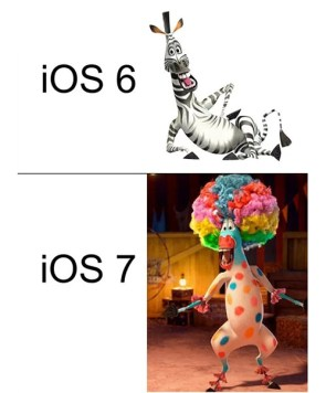 io6 vs ios7