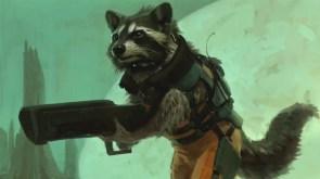 marvel's rocket racoon