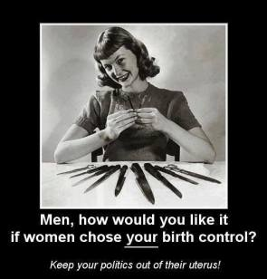who chooses the birth control