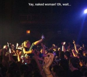yay naked woman