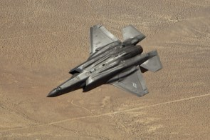 black stealth plane