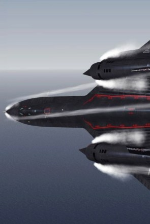SR-71 banking