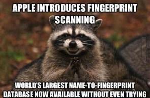 apple introduces fingerprint scanning