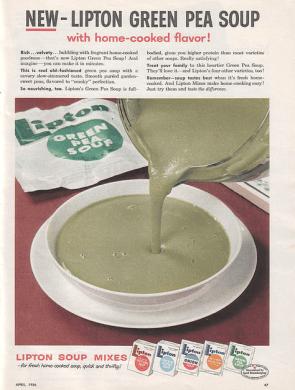 lipton green pea soup