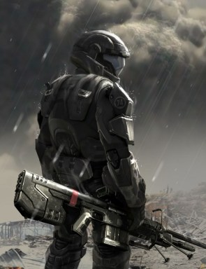 odst in the rain
