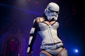 star wars stripper whore slut cunt fuck nut cum bag