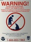 warning – do not piss on dolphins