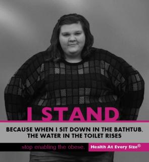 I stand – fatty
