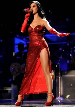 Katy Perry – Red Dress
