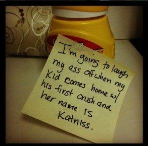 Kid Named Katniss