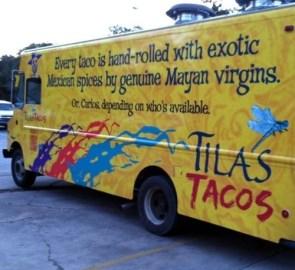 Mayan virgin tacos