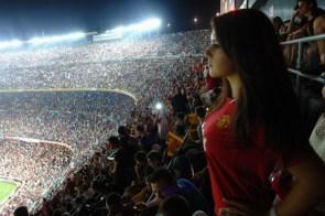 Perky Soccer Fan
