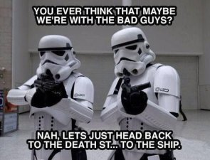 are the storm troopers bad guys