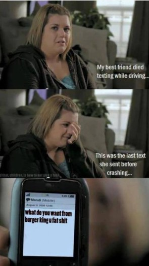 friend died while texting