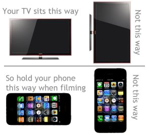 how to film with a phone