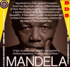 mandela – Apartheid is a crime agains thumanity