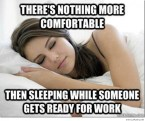 nothing more comfortable