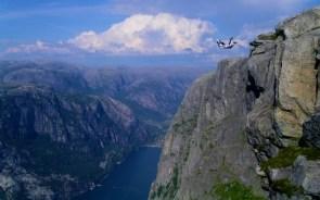 open sky base jumper