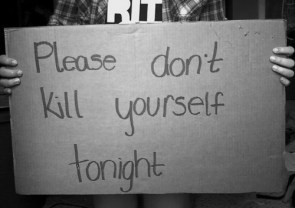 please don't kill yourself tonight
