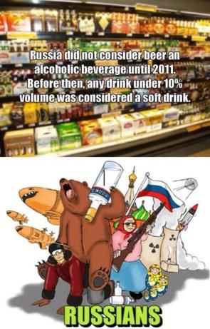 russia alchohol