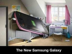 the new samsungg galaxy