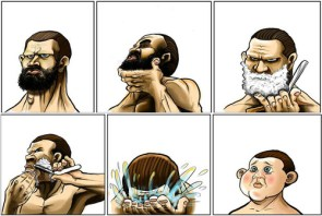 what happens when you shave