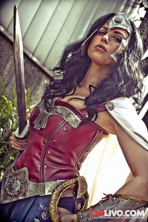Battle Damaged Wonder Woman