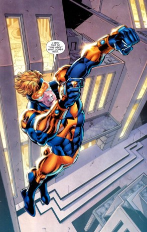 Booster Gold Needs Time To Think