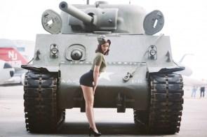 Classy Tank Girl Pin up