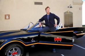 Conan and the Batmobile