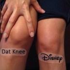 Dat knee Disney
