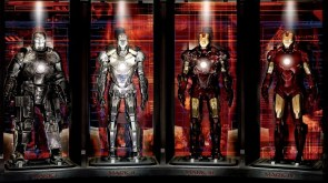 Iron Man Wall of armor