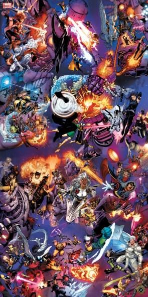 Marvel Now X-men Covers