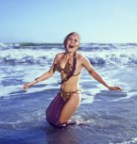 Princess Leia in the water