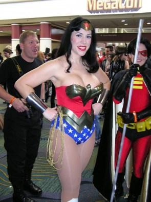Top Heavy Wonder Woman