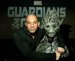 Vin Diesel is Groot